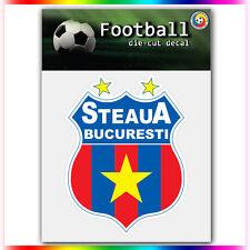 "FC Steaua Bucuresti UEFA Die Cut Vinyl Sticker Car Bumper Window 4""x3.1"""