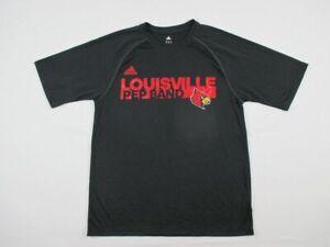 Louisville Cardinals adidas Short Sleeve Shirt Men's New Multiple Sizes