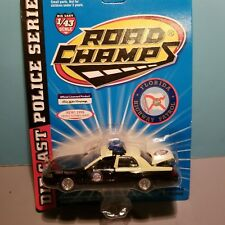 ROAD CHAMPS (6431) 1:43 SCALE DIECAST METAL FLORIDA STATE POLICE CAR