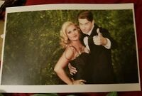 Pretty Woman Andy Karl and Orfeh Signed Tony Awards 11x17 Poster Photo RARE MUST