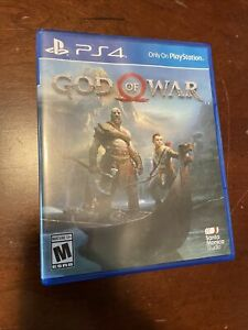 God of War PS4; Complete With Case; Fast Shipping!