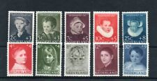 Netherlands 1956/57 Child Welfare sets Mnh Sg cv £37