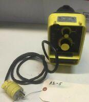 LMI Milton Roy Chemical Electromagnetic Pump AA151-95S 1.0GPH 110PSI Warranty