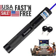 800Miles Blue Purple Laser Pointer Pen Visible Beam Astronomy Pet Toy Lazer Pen