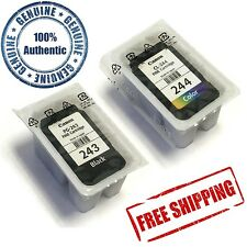 Genuine Canon PG-243 + CL-244 Ink Set iP2820 MG2420 MG2525 MG2920 MG3020 TS3122