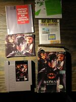 Batman Returns (NES) - Complete in Box - Manual & All Docs - Cleaned and Tested!