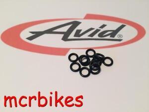 SRAM / AVID Hydraulic Brake Bleed Screw O`ring Guide -Code -Trial -Elixir -Jucy