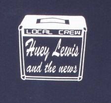 Huey Lewis & the News Local Crew Black XL T-Shirt