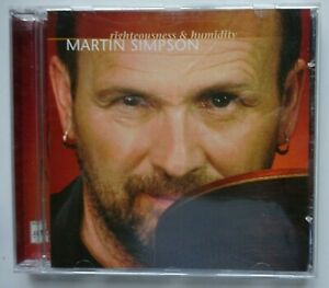 MARTIN SIMPSON Righteousness and Humidity - Topic Records CD (2010) Promo Sticke