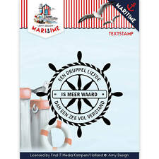 Stempel - Clearstamp - Maritime  von Amy Design (ADCS10015)