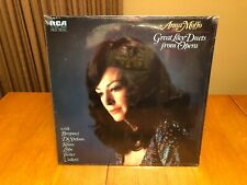 """ANNA MOFFO """"GREAT LOVE DUETS"""" OPERA RCA RED SEAL STEREO LP SEALED MINT"""