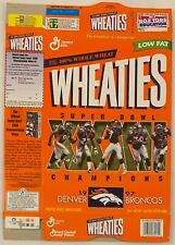 Wheaties Denver Broncos Super Bowl Champions 1997