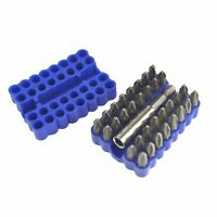 Screwdriver Bits PH2 Phillips And PZ2 Pozi Bits 33pc BERGEN AT675