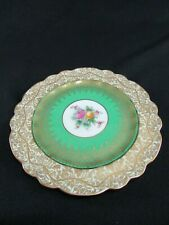 George Jones Crescent China Hand Painted & Gilded Plate c.1931