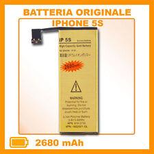 Batteria sostituzione ricambio per IPHONE 5S 2680mAh maggiorata potenziata