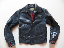 Levi's Jeans Damen Jacke Lederjacke Gr. XS Echt-Leder Bikerjacke, Vintage, ALT !