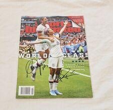 Megan Rapinoe & Alex Morgan Signed SI Soccer *PROOF* USA World Cup France