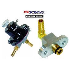 Sytec Sar Combustible Regulador de la presión + Subaru Impreza WRX STI adaptador de carril (92-00)