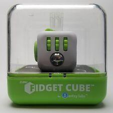 Zuru Original Fidget Cube By Antsy Labs - White Lime Green NEW SEALED IN BOX