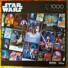 """Star Wars"" film posters 1000 piece jigsaw puzzle, by Buffalo"