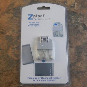 Z-Plus Pipe Lighter Butane Insert Soft Flame Lighter Upgrade Windproof