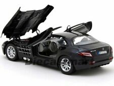 Mercedes SLR McLaren - Black, Classic Metal Model Car, Motormax 1/24