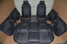 Audi A7 Lederausstattung Leather Schwarz S-Line Sportsitze Leather Seats