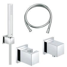 Grohe Euphoria Cube Set Handbrausegarnitur mit Wandanschlussbogen 27702 / 27704