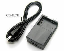 Battery Charger for NB-2LH Canon ZR400 ZR500 ZR600 ZR700 ZR800 ZR830 ZR850 ZR900