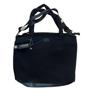 madden girl neoprene black weekender travel bag