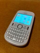 Telefono cellulare NOKIA ASHA 201 Bianco, completo e funzionante, buono stato