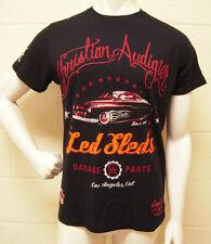 Christian Audigier Garage Parts Led Sleds Black T-Shirt (L) NEW