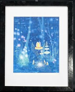 Take Care Give Care Limited Edition Print Framed and Signed by the artist