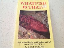 FISHES FISHING AUSTRALIAN BOOK COMPLETE SPECIES FRESHWATER MARINE BEST SELLER