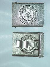 NVA Koppelschloß silber für schwarzes Lederkoppel unbenutzt, MDI Bepo VP