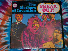 MOTHERS OF INVENTION Freak Out! VERVE second press VG++ FRANK ZAPPA