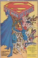 SUPERMAN SUPPLEMENTO AL NUMERO 10 DI CORTO MALTESE OTTOBRE 1988