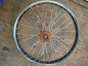 20 Inch Rear Wheel For Bmx Bike. Has some marks