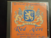 RED  ALERT  -  DRINKING with ....BREWED in SUNDERLAND,   CD  1994,   PUNK RARE