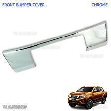 Fits Nissan Navara Np300 D23 2015 2017 With 3M Chrome Front Bumper Plate Cover