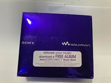Sony Walkman NW-S705F 2GB Digital Music Player (RARE) - Violet