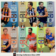2014 Select AFL Champions Milestone Card Full Set of 90 cards