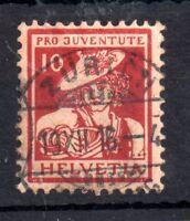 Switzerland 1916 10c Pro Juventute J5 good used WS11165
