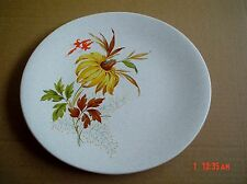 Grindley Side Plate Grey Speckled With Yellow Flower Leaves