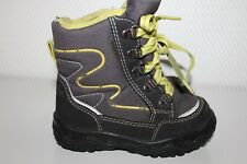 SUPERFIT GORE-TEX Baby Stiefel Halbschuhe Kinder Boots Schuhe Gr.24 grau-grün