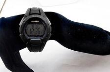 Timex IROMAN Black Digital Chronograph Watch Msrp $42.00 **NEW**