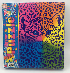 Lisa Frank Puzzle Collectible Rose Art Puzzle Cat Cheetah or Leopard 100 Pieces