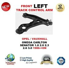 FOR OMEGA CARLTON SENATOR 1.8 2.0 2.3 2.6 3.0 1986> FRONT LEFT TRACK CONTROL ARM