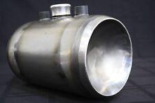 Harley Chopper / Bobber Oil Tank, Tinworks inc 6 in round steel KEGGED ENDS