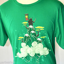 Yoshis Island SNES Samurai Platform In The Clouds T-Shirt XL Woot! Limited Edtn